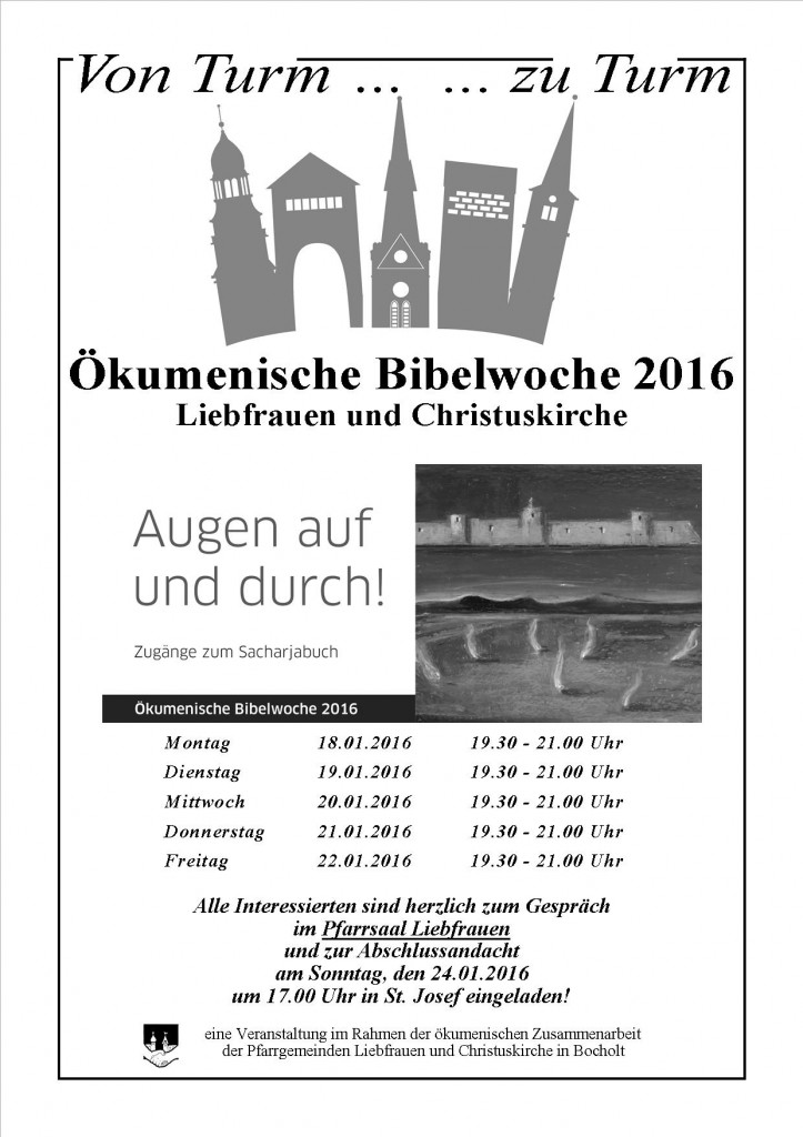 Plakat Ökumenische Bibelwoche 2016